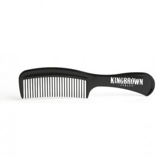 Handle Comb Black 17cm - King Brown