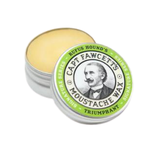 Rufus Hounds moustache wax Captain Fawcett