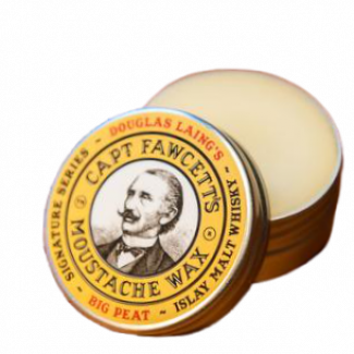 Captain Fawcett BIG PEAT Islay Malt Whisky snorwax