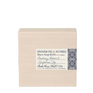 Bath house Refill Scheerzeep Spanish Fig & Nutmeg