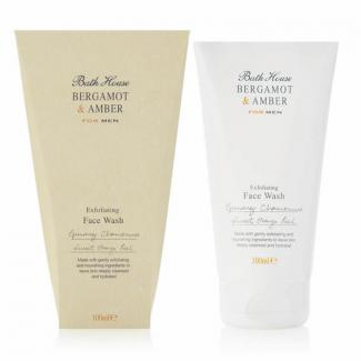 Bath House Face Wash Bergamot & Amber 100ml
