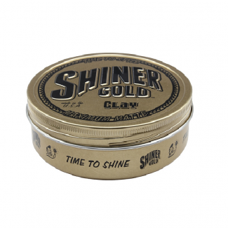 Clay Pomade Matt - Shiner Gold