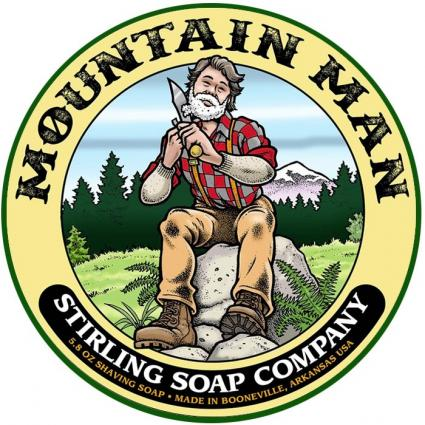 Mountain Man Scheerzeep 170 ml - Stirling